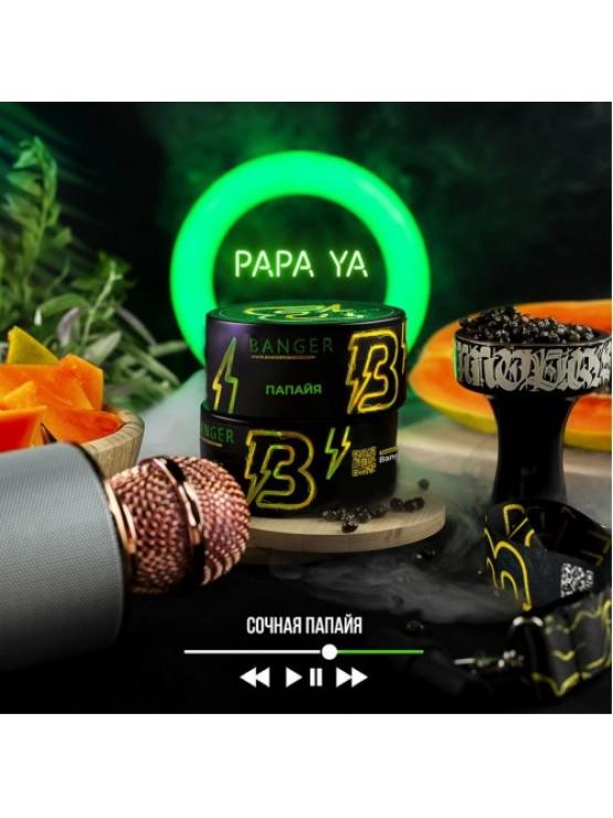 Тютюн Banger Papa Ya (Папайя) - 100 грам