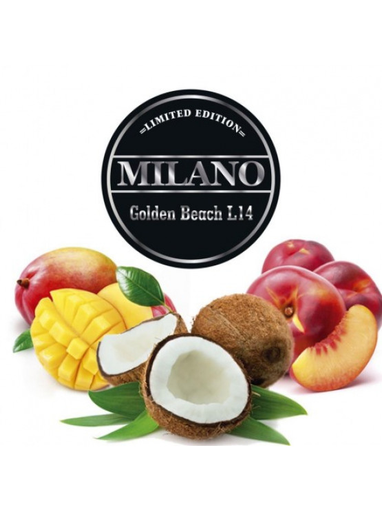 Тютюн Milano Limited Edition L14 Golden Beach 100грам