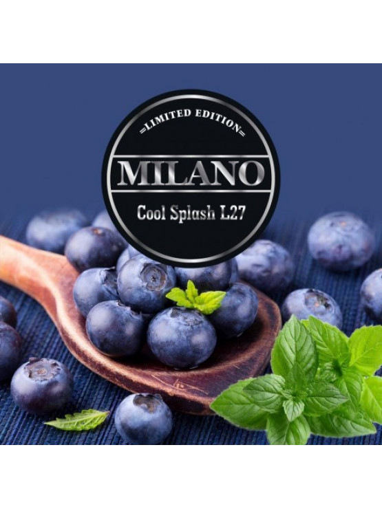 Табак Milano Limited Edition L27 Cool Splash 100грамм
