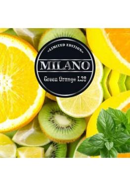 Тютюн Milano Limited Edition L38 Green Orange 100грамм