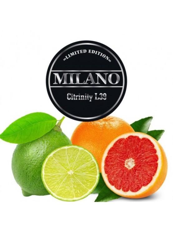 Табак Milano Limited Edition L39 Citriniti 100грамм