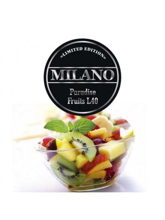 Тютюн Milano Limited Edition L40 Paradise Fruits 100грам