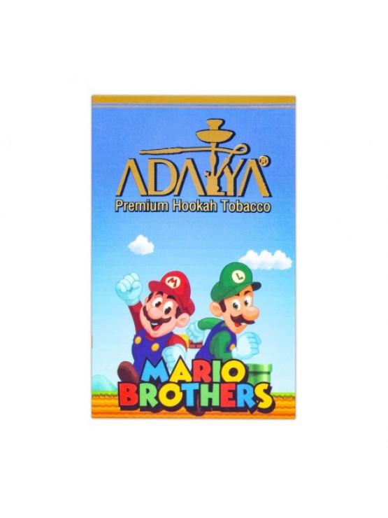 Табак Adalya Mario Brother (Маракуйя, Малина, Лимон)- 50 грамм