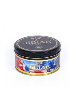 Табак Jibiar Ice Strawberry Raspberry (Лед Клубника Малина) - 250 грамм