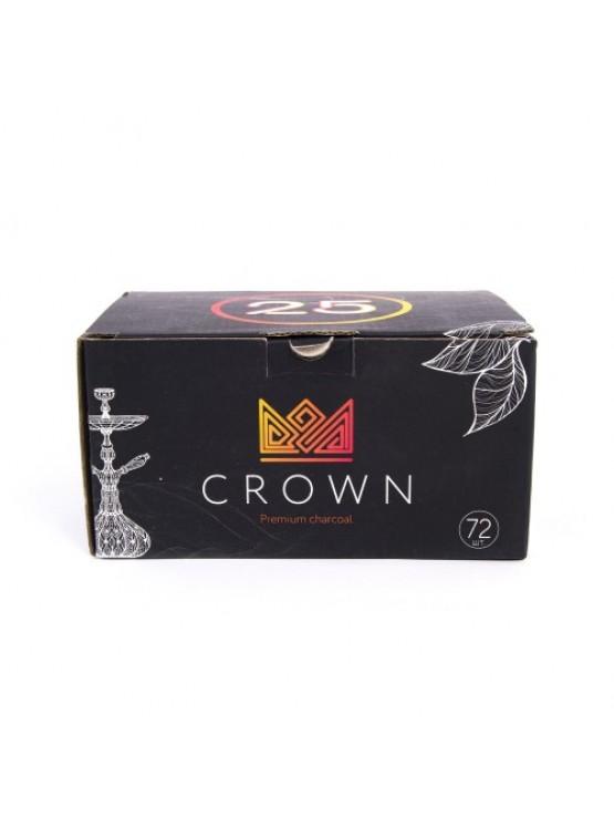 Вугілля кокосове Crown 1кг (72 шт)