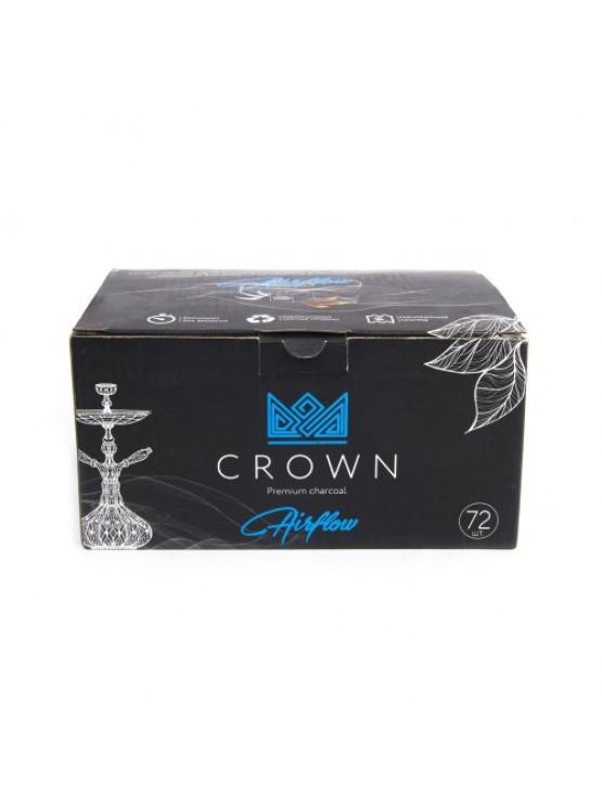 Вугілля кокосове Crown Air Flow 1кг (72 шт)
