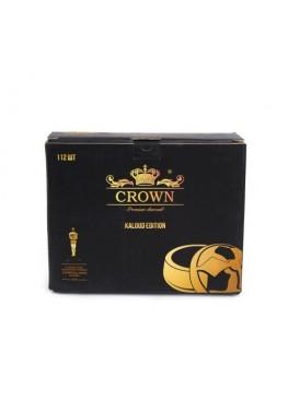 Уголь кокосовый Crown  1кг (112 шт)