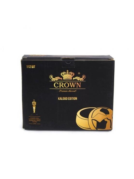 Вугілля кокосове Crown  1кг (112 шт)