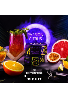Тютюн Banger Passion Citrus (Сік Цитрус Маракуйя) - 100грам