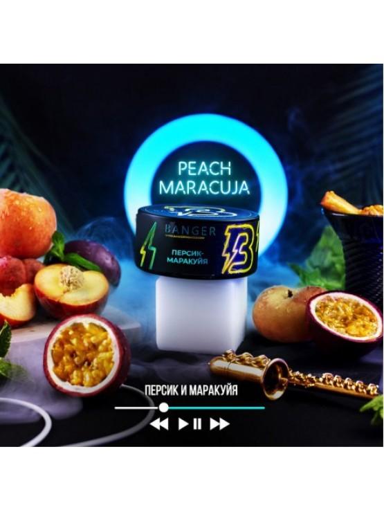 Табак Banger Peach Maracua (Персик Маракуя) - 100грамм