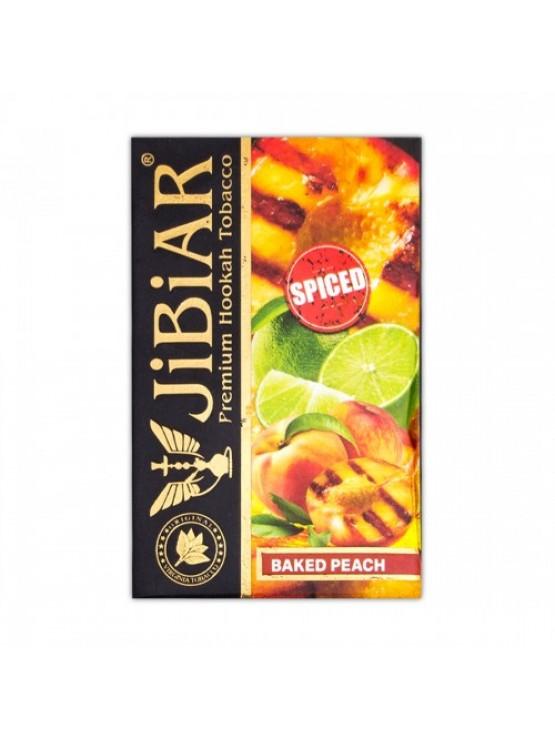 Табак Jibiar Baked Peach (Запеченный персик) - 50 грамм
