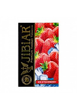 Тютюн Jibiar Ice Strawberry (Лід Полуниця) - 50 грам