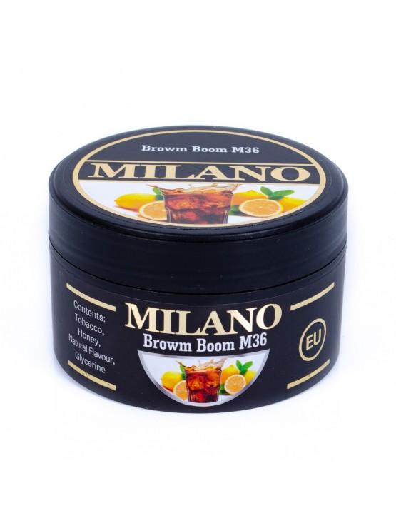 Тютюн Milano Brown Boom M36 (Темний Бум) - 100 грам