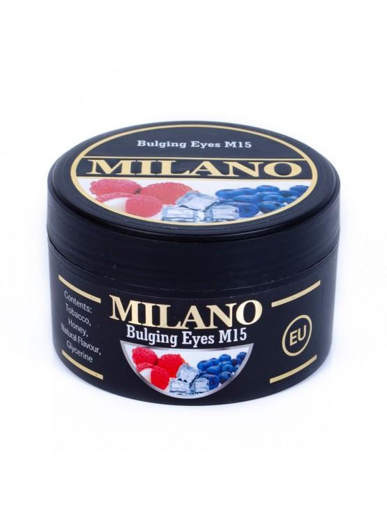 Тютюн Milano Bulging Eyes M15 (Гарячі Очі) - 100 грам