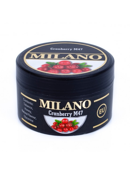 Тютюн Milano Cranberry M47 (Журавлина) - 100 грам