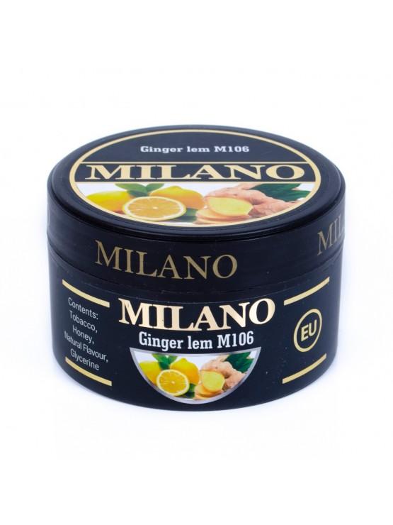 Табак Milano Ginger Lem M106  - 100 грамм