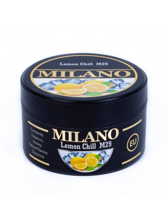 Табак Milano Lemon Chill M29 (Лимон Лед) - 100 грамм