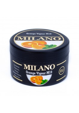 Тютюн Milano Orange Vigour M18 (Апельсин М'ята) - 100 грам