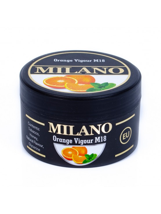 Табак Milano Orange Vigour M18 (Апельсин Мята) - 100 грамм