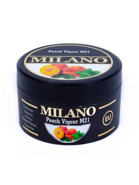 Табак Milano Peach Vigour M21 (Персик Мята) - 100 грамм