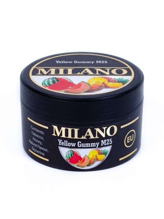 Табак Milano Yellow Gummy M25 (Желтые Мишки) - 100 грамм