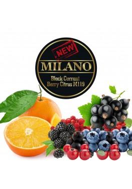 Тютюн Milano Black Currant Berry Citrus M119 (Чорна Смородина Ягода Цитрус) - 50 грам