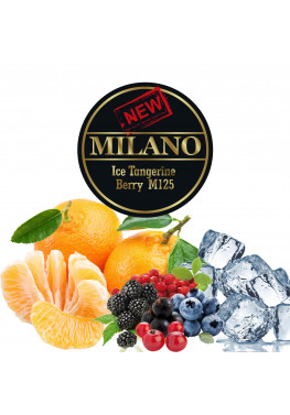 Тютюн Milano Ice Tangerine Berry Twist M125(Лід Мандарини Ягоди) - 50 грам