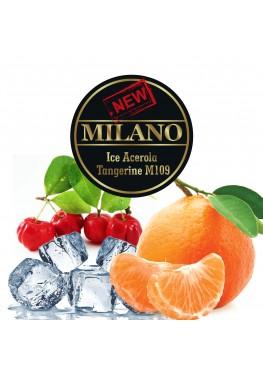 Табак Milano Ice Acerola Tangerine М109 (Лед Ацерола Мандарин) - 50 грамм