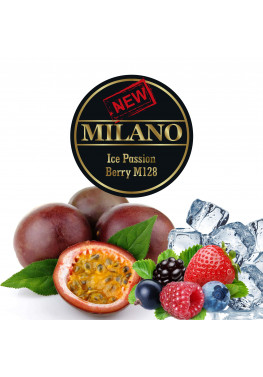 Табак Milano Ice Passion Berry M128 (Лед Маракуйя Ягоды) - 50 грамм