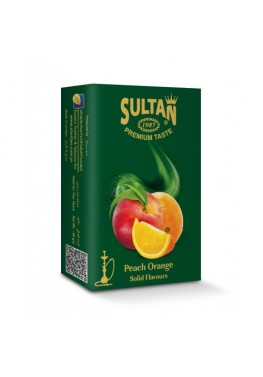 Табак Sultan Peach Orange (Персик Апельсин) - 50 грамм