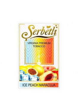 Тютюн Serbetli Ice Peach Maracuja (Лід Персик Маракуйя) - 50 грам