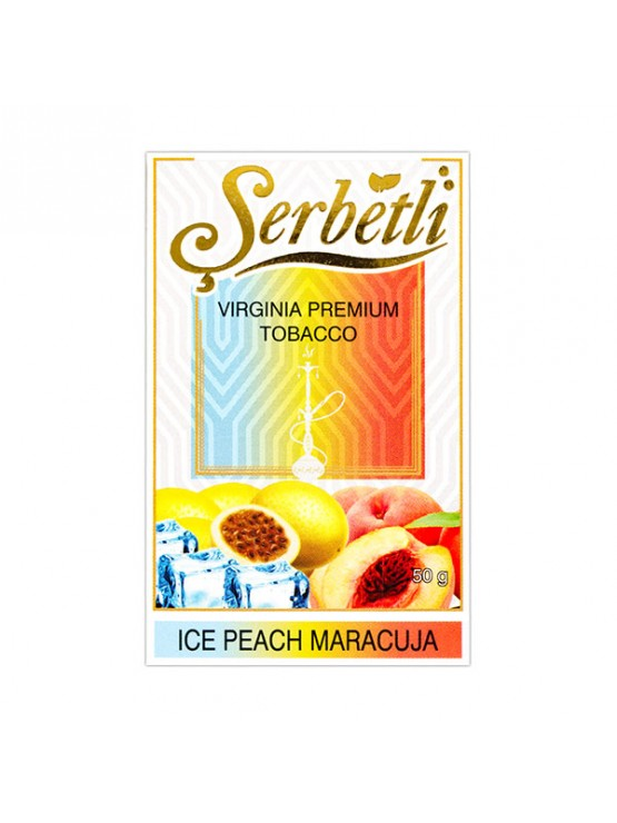 Табак Serbetli Ice Peach Maracuja (Лед Персик Маракуя) - 50 грамм