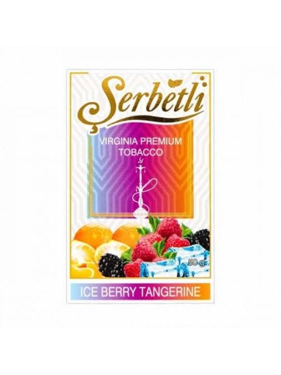 Тютюн Serbetli Ice Berry Tangerine (Лід Ягоди Мандарин) - 50 грам
