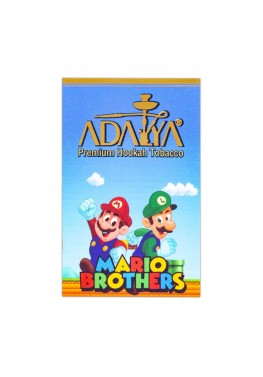Табак Adalya Братья Марио (Маракуйя, Малина, Лимон)- 50 грамм