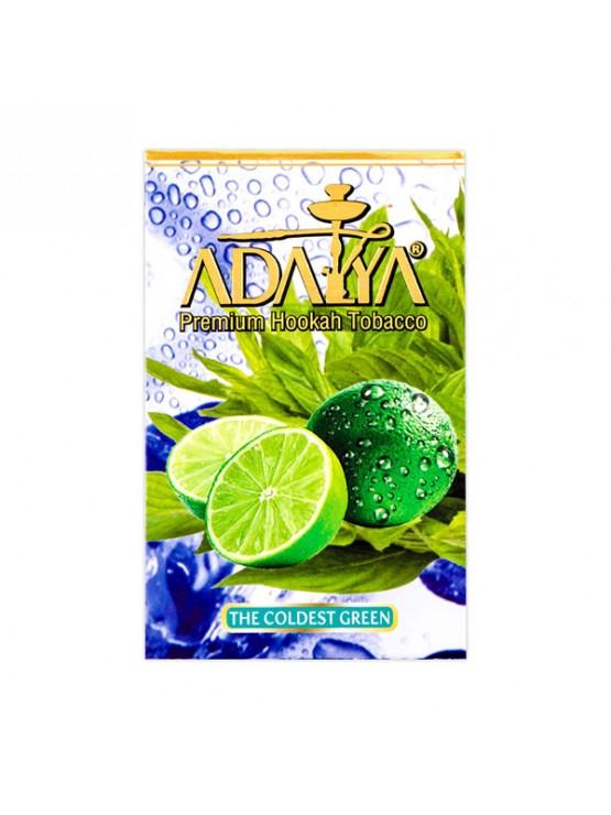 Табак Adalya The Coldest Green (Прохладный Лайм) - 50 грамм