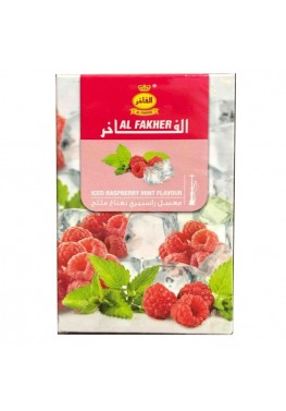 Табак Al Fakher Iced Raspberry with Mint (Лед Малина с Мятой) - 50 грамм