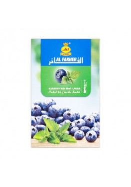 Табак Al Fakher Blueberry with Mint (Черника Мята) - 50 грамм