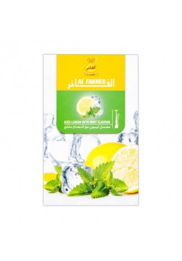 Табак Al Fakher Iced Lemon with Mint (Лед Лимон с Мятой) - 50 грамм
