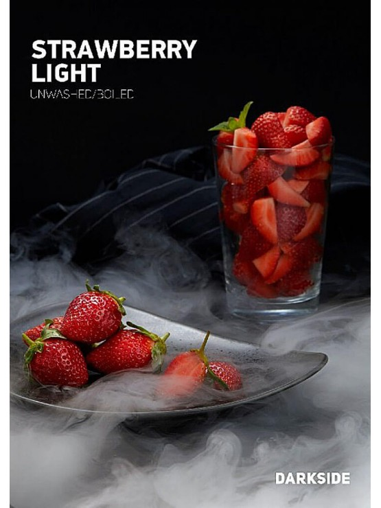 Тютюн Darkside Medium Strawberry Light (Полуниця) - 100 грам
