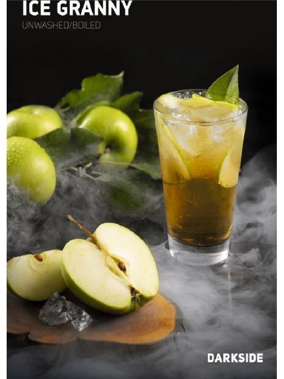 Табак Dark Side Core Ice Granny 100 грамм (Зеленое Ледяное Яблоко)