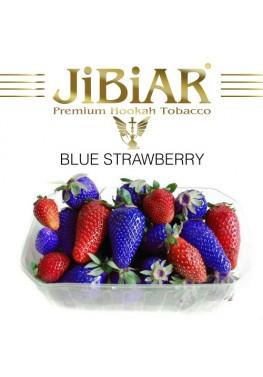 Тютюн Jibiar Blue Strawberry (Блакитна Полуниця) - 100 грам