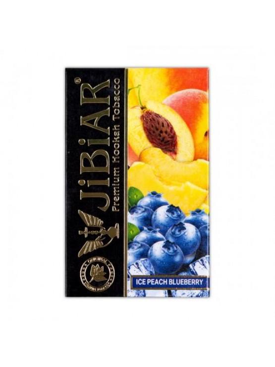 Тютюн Jibiar Ice Peach Blueberry (Лід Персик Чорниця) - 50 грам