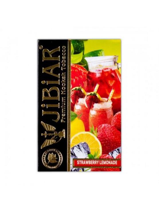 Тютюн Jibiar Strawberry Lemonade (Полуничний Лимонад) - 50 грам