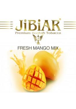 Тютюн Jibiar Fresh Mango Mix (Свіжий Манго Мікс) - 100 грам