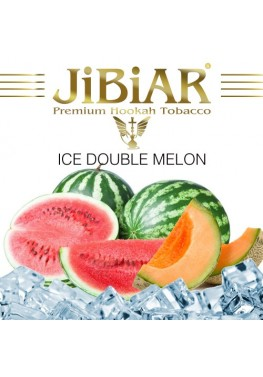 Табак Jibiar Ice Double Melon (Лед Арбуз Дыня) - 100 грамм