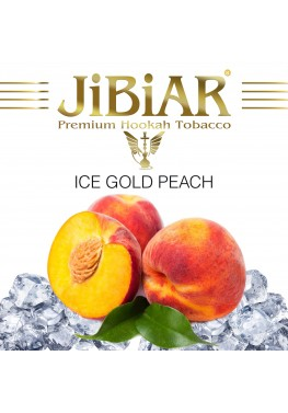 Табак Jibiar Ice Gold Peach (Лед Персик) - 100 грамм