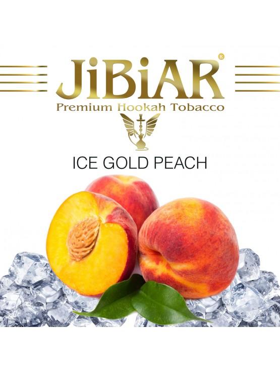 Табак Jibiar Ice Gold Peach (Лед Персик) - 100 грамм