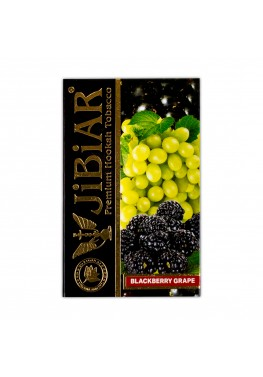 Тютюн Jibiar Blackberry Grape (Ожина Виноград) - 50 грам