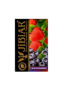 Табак Jibiar Blue Strawberry (Голубика клубника) - 50 грамм
