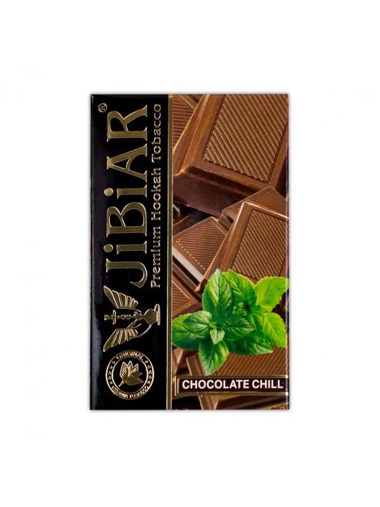 Тютюн Jibiar Chocolate Chill (Шоколад М'ята) - 50 грам